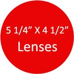 133mm X 114mm Lenses