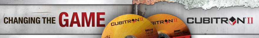 Changing the Game - 3M Cubitron Cut and Grind Discs