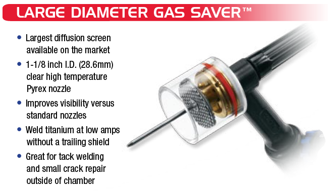 CK Large Diameter Gas Saver Kit