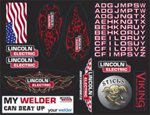 Lincoln Viking 3350 Decal Pack